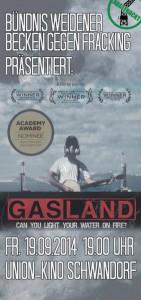 gasland flyer front