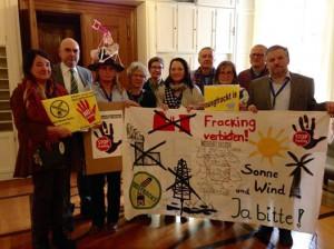 Fracking  Wirtschaftsausschuss-Sitzung 12.02.2015. Petition abgelehnt